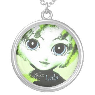 Neko Girl, Lola! Pretty Womens' Girls' Necklace