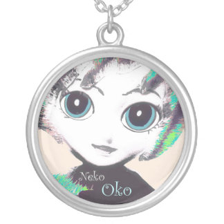 Neko Girl, Oko! Pretty Womens' Girls' Necklace