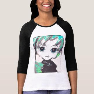 Neko Girl, Oko, Raglan sleeves, comfort t-shirt Shirt