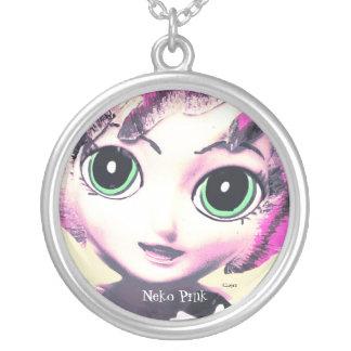 Neko Girl, Pink, Girls' Necklace Jewellery Jewelry