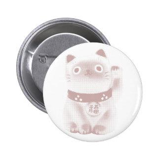 Neko Kitty Pinback Button