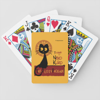 Neko Kuro Bicycle Poker Cards
