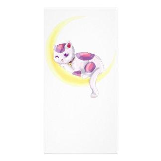 Neko Moon Card