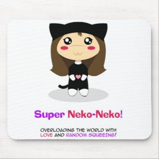 Neko-Neko estupendo Tapete De Raton