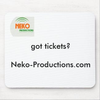 Neko-Producciones Mousepad