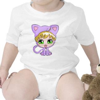 Neko Suit Anime Baby Creeper