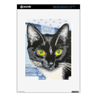 NEKO THE CAT DECAL FOR iPad 3