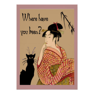 Neko Where Have You been? Poster