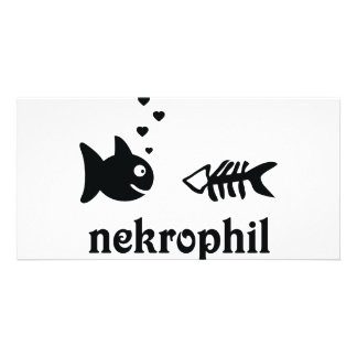 nekrophil fish icon card