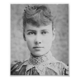 Nellie Bly - Early American Journalist - Print