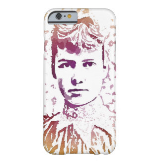 Nellie Bly Pop Art Portrait Barely There iPhone 6 Case