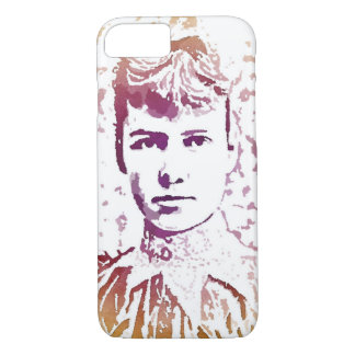Nellie Bly Pop Art Portrait iPhone 8/7 Case