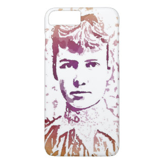 Nellie Bly Pop Art Portrait iPhone 8 Plus/7 Plus Case