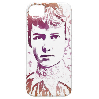Nellie Bly Pop Art Portrait iPhone SE/5/5s Case