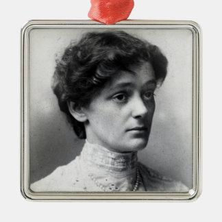 Nellie Cecil Metal Ornament