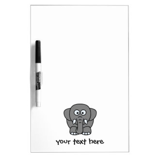 Nellie the Elephant Dry Erase Board