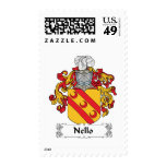 Nello Family Crest Postage Stamps