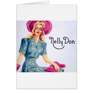 Nelly Don Artwork Greeting Card