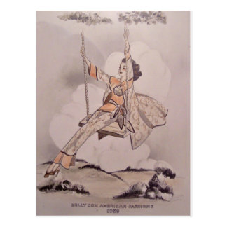 Nelly Don Artwork Postcard
