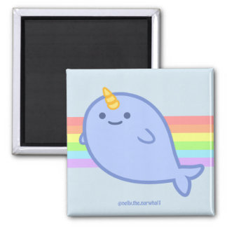 Nelly the Narwhal Magnet