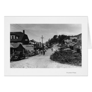 Nelscott, Oregon Town View Ocean Front Cottages Card