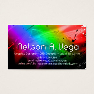 Nelson A. Vega's Business card