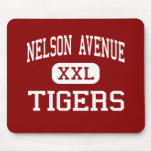 Nelson Avenue - Tigers - Middle - Oroville Mouse Mat
