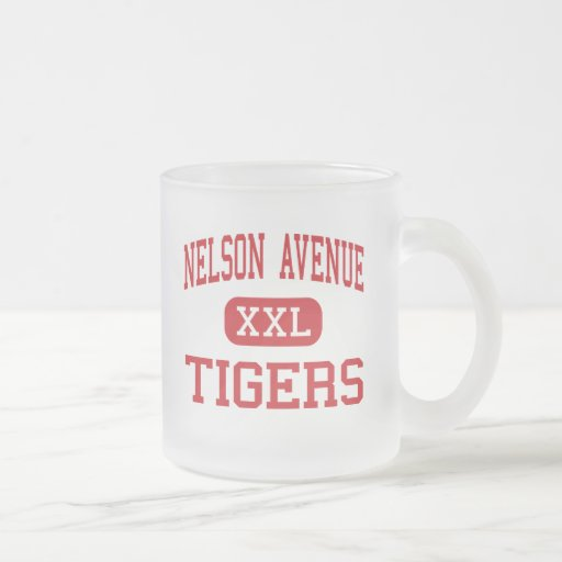 Nelson Avenue - Tigers - Middle - Oroville Coffee Mug