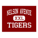 Nelson Avenue - Tigers - Middle - Oroville Postcard