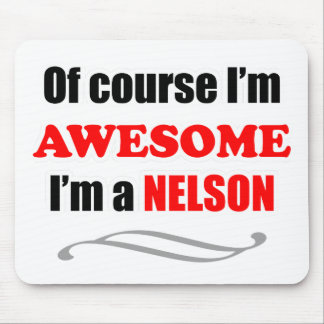 Nelson Awesome Family Mouse Pad