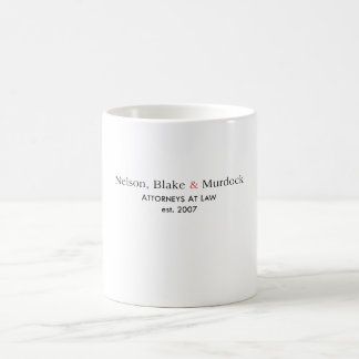 Nelson, Blake & Murdock Mug