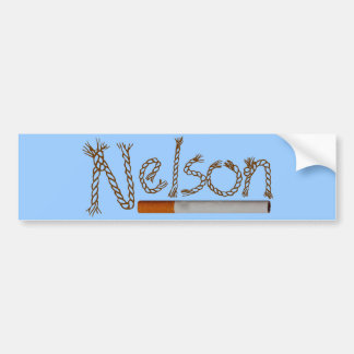 Nelson Cigarettes Bumper Sticker