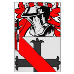 Nelson Coat of Arms Dry Erase Boards