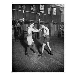 Nelson de lucha aka el danés durable, los años 20 postales