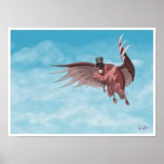 Nelson el cerdo del vuelo impresiones