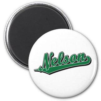 Nelson en verde imanes
