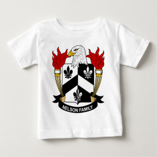 Nelson Family Coat of Arms T-shirt