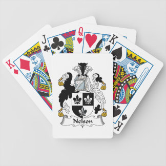 Nelson Family Crest Bicycle Playing Cards