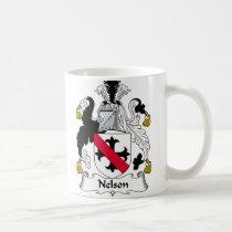 Nelson Family Crest Mug