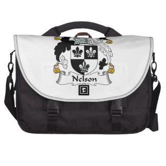 Nelson Family Crest Computer Bag