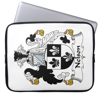 Nelson Family Crest Computer Sleeves