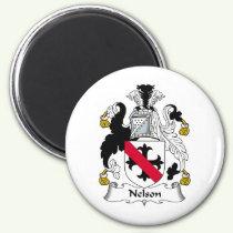 Nelson Family Crest Magnet