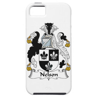 Nelson Family Crest iPhone 5 Covers