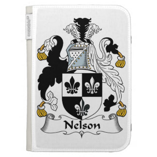 Nelson Family Crest Kindle Keyboard Covers