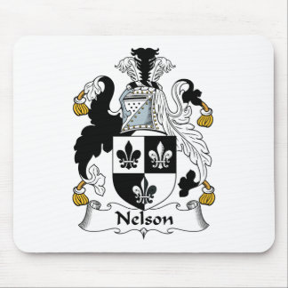 Nelson Family Crest Mouse Pad