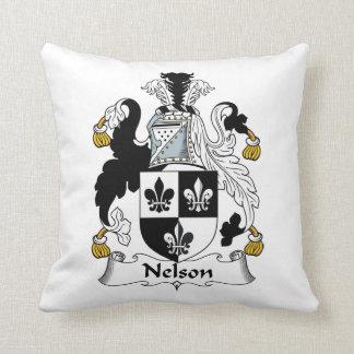Nelson Family Crest Pillow