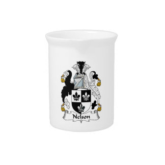 Nelson Family Crest Pitcher