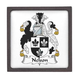 Nelson Family Crest Premium Gift Boxes