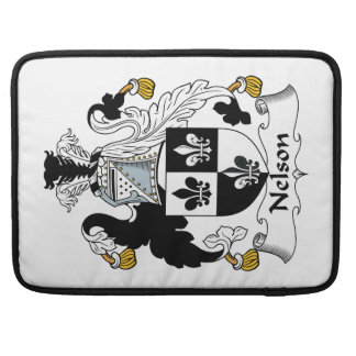 Nelson Family Crest Sleeve For MacBooks