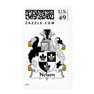 Nelson Family Crest Stamps
